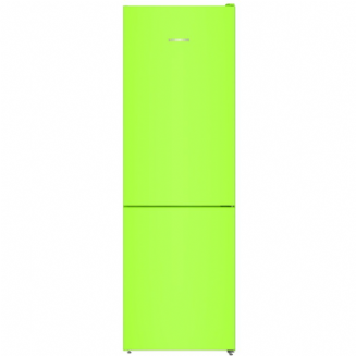 LIEBHERR CNKW4313  Freestanding fridge freezer with  a 3 drawer freezer in kiwi green